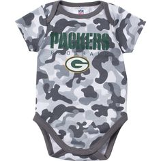 (Size 0-3   3-6) Green Bay Packers Newborn Onesie. a68bfefea