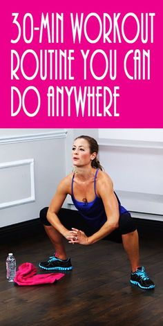 It's 30 minutes that will leave you dripping with sweat! Every move is a full-body exercise that will leave your muscles quivering. With no equipment needed, you can do this workout anywhere. So stop with the excuses and press play. We will warm you up, work you out, cool you down, and motivate you throughout this sweat session…