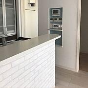 アクセントクロス/ダンボー/ニッチスイッチ/カメラでアクセントのインテリア実例 - 2013-09-29 23:02:43 | RoomClip (ルームクリップ) Kitchen Island, Furniture, Home Decor, Island Kitchen, Interior Design, Home Interior Design, Arredamento, Home Decoration, Decoration Home