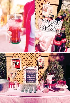 Vintage Shirley Temple Sippin' Soiree- so love this!  Could do Shirley Temple and Roy Rogers Twin Party!!