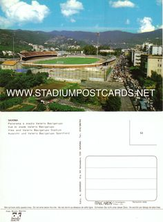 € 0,90 - code : ITA-043 - Savona - Bacigalupo - stadium postcard cartolina stadio carte stade estadio tarjeta postal
