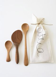 Attia wooden spoons via a favorite Australia shop.