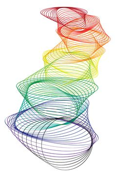 Rainbow Path Spirograph Graphic On dirait une sculpture moderne. Spirograph Art, Cv Inspiration, Elements And Principles, Photography Projects, Sculpture, Repeating Patterns, Geometric Art, String Art, Rainbow Colors