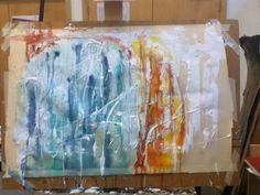 Progression of final piece