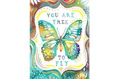 Oopsy Daisy So spread your wings, and experience life! Katie Daisy inspires with whimsical words and fanciful typography in pleasing color palettes. Bring cheer to your walls with her delightful wall art decor. Typographie Inspiration, Art Mur, Butterfly Quotes, Butterfly Art, Butterfly Images, Butterfly Watercolor, Quotes About Butterflies, Butterfly Colors, Butterfly Painting