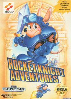 Rocket Knight Adventures Sega Genesis