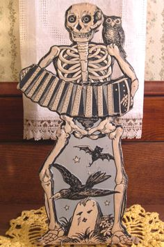 Vintage Halloween Cut out