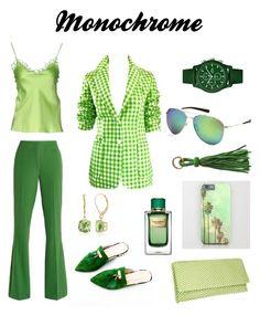 """Монохром"" by annavodopyanova on Polyvore featuring мода, Versace, Larry Levine, VIVETTA, Nina, Dolce&Gabbana, Costa, Belk & Co. и Lacoste"