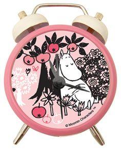 Pink Moomins Alarm Clock <3