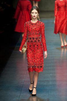 Dolce & Gabbana - Milan Fall 2013