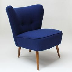 1950's Cocktail Chair (blue)