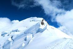 mont-blanc-4810-m Chamonix, Mount Everest, Classic, Nature, Travel, Mont Blanc, Mountains, Derby, Naturaleza
