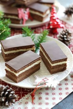 Cake Bars, Food To Make, Fondant, Cake Recipes, Cooking Recipes, Sweets, Cookies, Baking, Desserts