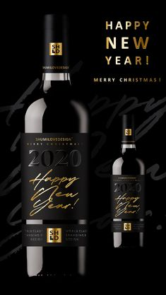 Being a branding agency, we simply couldn't ignore the magic number of 2020. We just could help playing with the fonts a little bit, as our dear customers like to say. With this project we would like to wish all our partners, customers, colleagues and all the players of the alcoholic beverage and packaging markets a happy New Year 2020 and Merry Christmas. In addition, we also want to wish the same to anyone who appreciates beauty and graphic design.