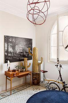 Stylish beige: apartment of German architect in Barcelona | PUFIK. Beautiful Interiors. Online Magazine
