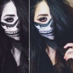 #Halloween #SephoraSelfie look: Skull Mask by hilaryb_xo. Tag your pics with #SephoraSelfie for a chance to be featured!