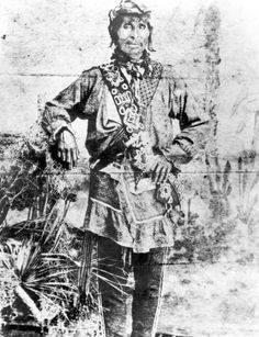 Chief Tallahassee in Polk County (late 1800s)   Tallahassee was the head of a band of about thirty Seminole families who lived peacefully in Polk County from 1850 until the 1890s.    His clothing demonstrates the typical clothing style of Seminole men of authority in the late 1800s.