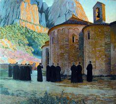 Santa Cecilia  Santiago Rusiñol