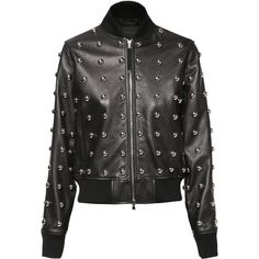 Diesel LILLES Jackets (12.740 HRK) ❤ liked on Polyvore featuring outerwear, jackets, black, diesel black gold, leather, women, lightweight bomber jacket, zip front jacket, zipper jacket and bomber jacket