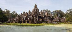 2015年3月24日・Bayon, Khmer temple constructed in the late 12th or early 13th century and located in the ancient city of Angkor