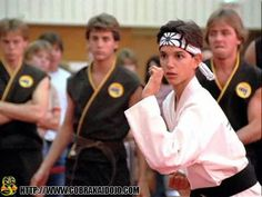 William Zabka Apologizes to Ralph Macchio for Literally Beating Him Up During 'The Karate Kid' The Karate Kid 1984, Karate Kid Movie, Karate Kid Cobra Kai, Karate Kid Costume, Kids Movie Party, Ralph Macchio The Outsiders, William Zabka, 80s Party Costumes, Ufc Fighters