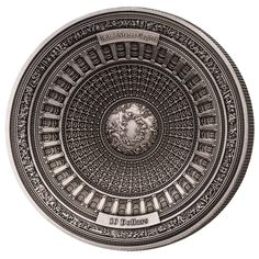 Third four-layer concave silver coin debuts the impressive domed ceiling of the US Capitol building - AgAuNEWS