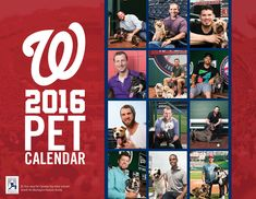 Pet Calendar Day | nationals.com: Tickets  I want one of these in the worst way!
