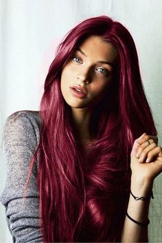 27 Exciting Hair Colour Ideas for Radical Root Colours Cool New Spring Shades Featured on: cool new hair color ideas Cool Hair Color Ideas for 2019 Hair Color 2016, Red Hair Color, Cool Hair Color, Color Red, Dark Red Hair Dye, Cherry Cola Hair Color, Teen Hair Colors, Red Pink Hair, Colour Shades