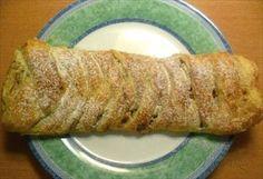 Zobrazit detail - Recept - Jablečný štrůdl s ořechy - rychlovka