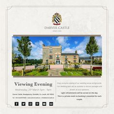 We are looking forward to meeting with you both on Wednesday March. Private Wedding, Our Wedding, Wedding Venues, Dream Wedding, Private Viewing, 25 March, Come And See, Ticks, Invite