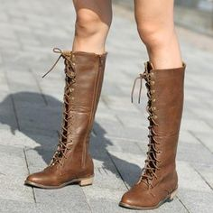 yesstyle brown boots