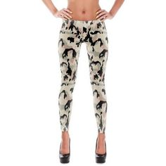 German WWII SS Leibermuster Faded CAMO All-Over Leggings