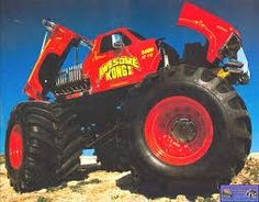 King Kong, Golden Age, Old School, Monster Trucks, Vehicles, Rolling Stock, Vehicle