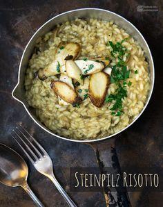 Steinpilz-Risotto (mit getrockneten Steinpilzen) | Madame Cuisine Rezept