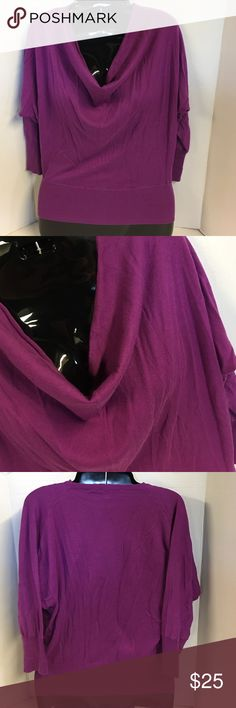 🌺 NWT Ann Taylor Loft Sweater XSmall 🌺 NWT Ann Taylor Loft Sweater XSmall. In excellent condition! New with tags. Pretty soft cowl neck light weight sweater. Pretty in purple. LOFT Sweaters Cowl & Turtlenecks