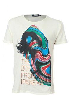 Antony-Morato-Mens-Yellow-Graphic-T-Shirt-Boudi-Front