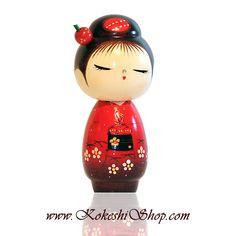 Hanadayori - Kokeshi doll available on www.kokeshishop.com