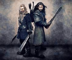 The Hobbit: Fili & Kili by Gianfranco Gallo