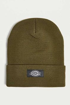 1a93219a4b8 Dickies Yonkers Olive Beanie Skater Fashion