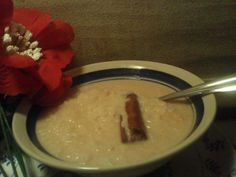 Aroz Con Leche...the all favorite Rice Pudding... Ingredients:  2 cups Rice  10 cups Water  1 can Carnation Milk  1 Tbls Vanilla Extract  1 stick Cinnamon  2 tsp Ground Cinnamon  3/4 cups Granulated Sugar (add more for desired sweetness)   Instructions:  Put all ingredients in a large pot to boil for about 50 minutes on medium low heat stirring every 10 minutes...  Rice should be very tender...  Serve hot add desired amount of fresh milk to help cool...