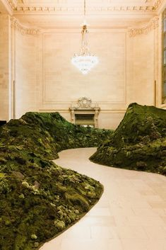 Fall In Love With These Landscape Projects From Studio Lily Kwong Top Interior Designers, Luxury Interior, Interior And Exterior, Biophilic Architecture, Nam June Paik, Instalation Art, Interior Garden, Stage Design, Elle Decor