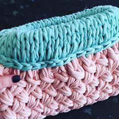 @woolandthegang #HoldTightClutch done! #shareyourknits #madeunique #woolandthegang #knitting #make #JerseyBeGood