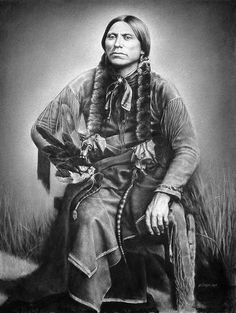 Quanah Parker by steeelll, via Flickr