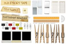 Great resourse for all kinds of awsome FREE vectors, from paper to zippers, closepins, film strips, ETC.