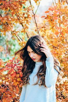 There is nothing prettier in the world than a girl in love with every breath she takes. - Atticus 💌 #portraitphotography #portrait #fallingforfall #autumn #november