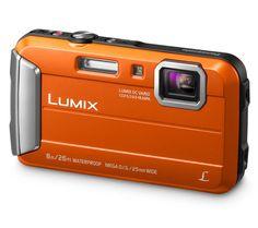 PANASONIC Lumix DMC-FT30EB-D Tough Compact Camera - Orange