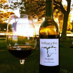 William Chris Vineyards: proof that good wine does exist in Texas. Enchante, y'all!