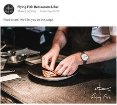 Great Google+ post from Flying Fish Restaurant and Bar in Pyrmont / Post Google+ sympathique de Flying Fish Restaurant and Bar à Pyrmont https://plus.google.com/u/1/b/111633823308851980087/117229116771790632690/posts/gQgQcM8ygK9