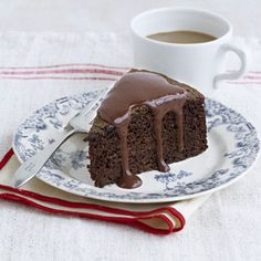 Chocolate Cake with Chocolate-Orange Sauce