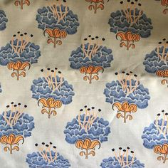 "Katie Ridder ""Peony"" Fabric - 1.25 Yard - Image 1 of 3"